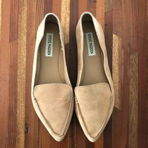 Steve Madden Feather pointed loafers/flats
